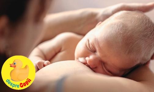 Cat lapte trebuie sa manance un bebelus in prima luna de viata?