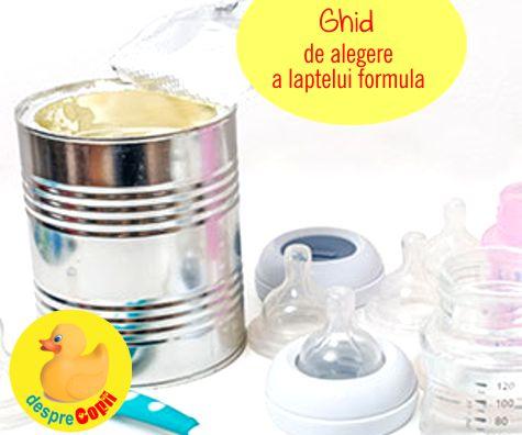 Cum alegem formula de lapte praf: GHID pentru mamici de…