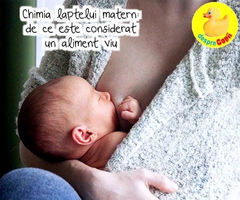 Chimia laptelui matern: de ce este considerat un aliment viu