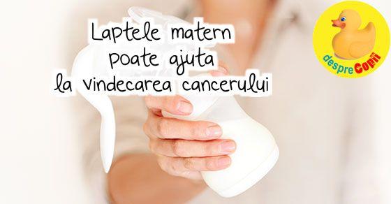 Laptele matern poate ajuta la vindecarea cancerului