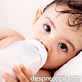 Lapte de vaca versus formula de lapte praf