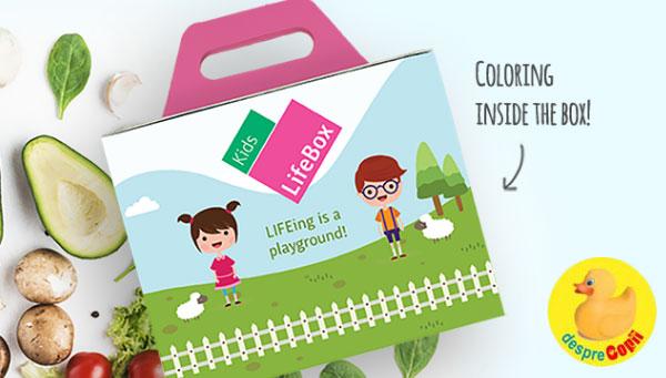 Copilul tau are probleme cu greutatea? LifeBox Kids este aliatul de nadejde in lupta cu tentatiile nesanatoase