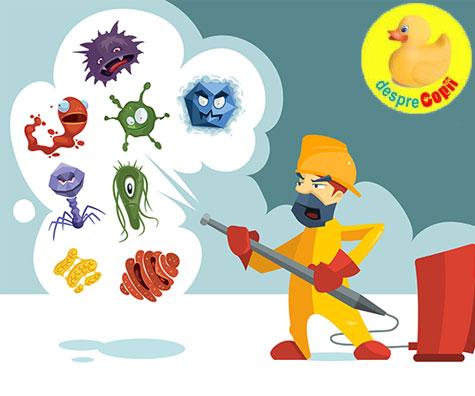 Lipsa microbilor poate duce la cancer in copilarie