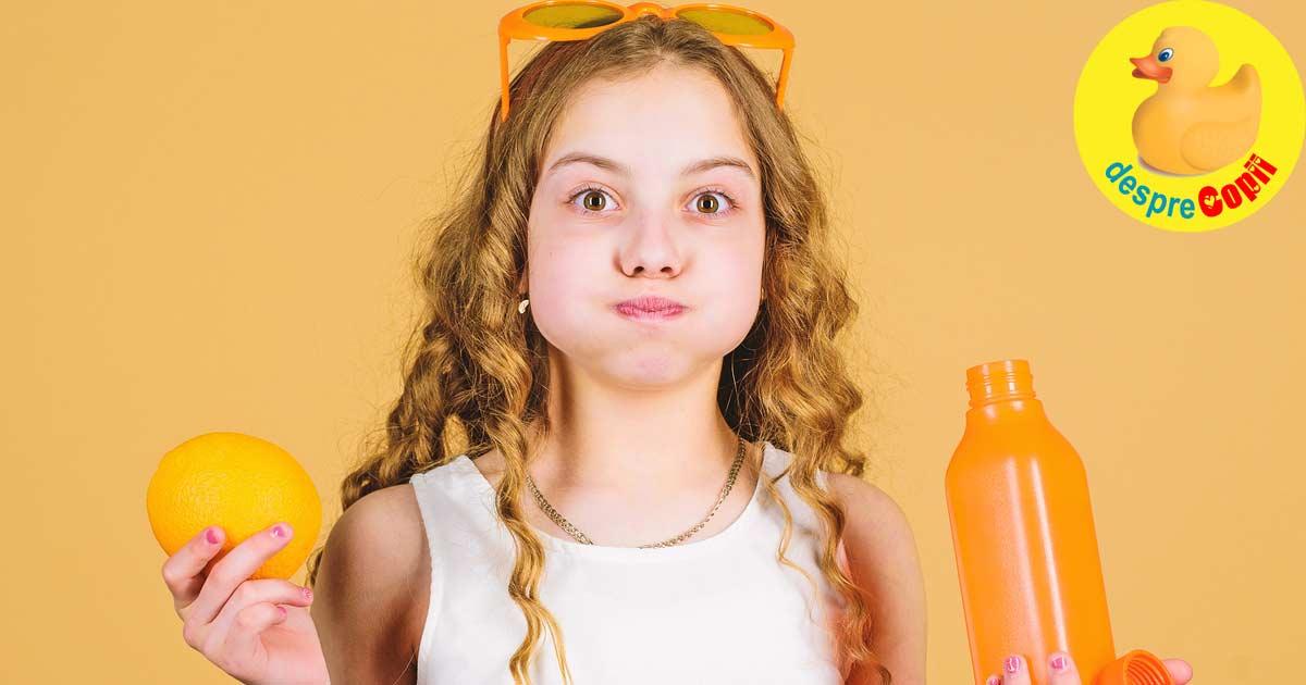 Lipsa de vitamine la copii: ce vitamine pot fi deficitare si cand se recomanda suplimente?
