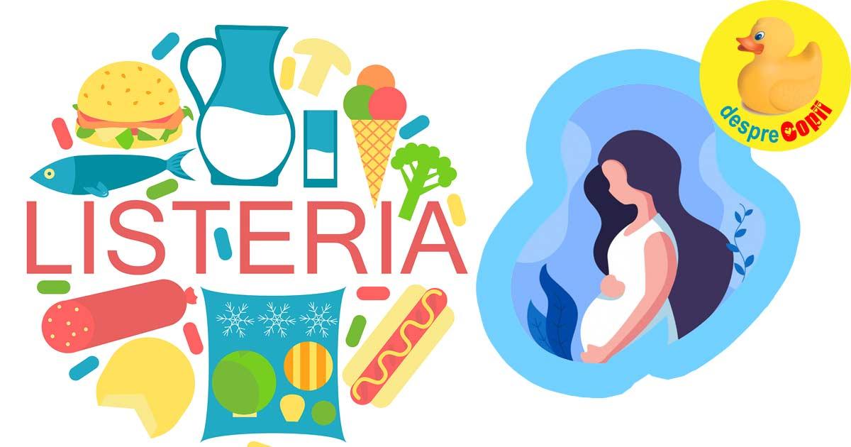Listeria si sarcina. Simptomele listeriozei, diagnostic, preventie si tratament