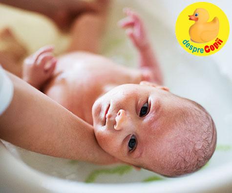Lotiune de spalare pentru bebelusi cu nuca de cocos pe care o poti face singura