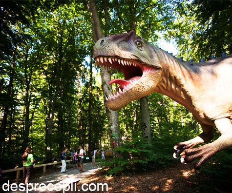 Va asteptam in lumea dinozaurilor