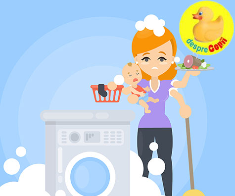 9 intrebari si exclamatii pe care nu trebuie sa le pui unei mamici casnice