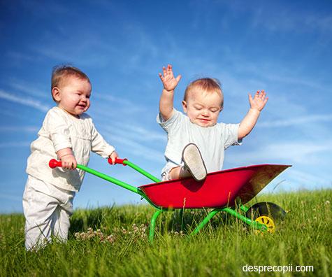 Gemenii: intrebari, raspunsuri si provocari pentru parinti de bebelusi gemeni