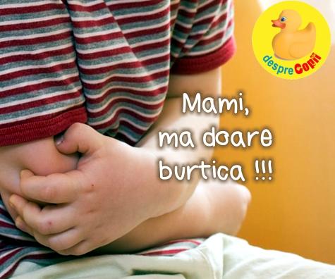 Mami, ma doare burtica: cum ne ajutam copilul