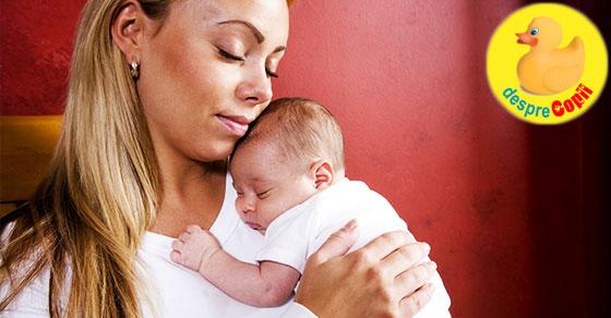 17 momente pe care doar mama unui bebe nou-nascut le  poate intelege