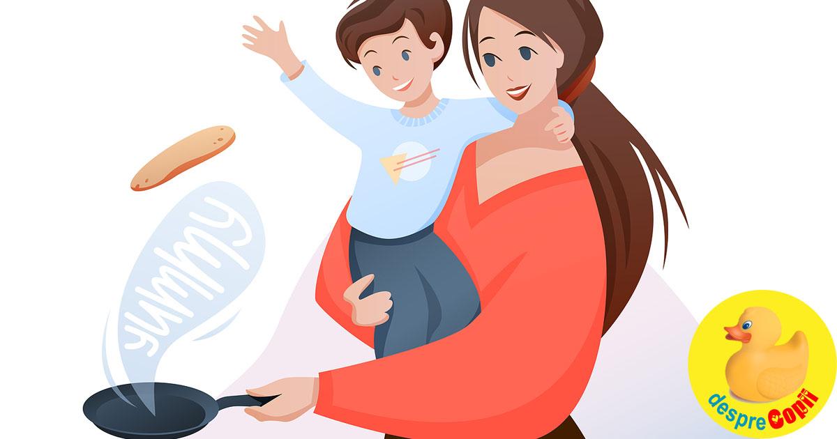 4 sfaturi pentru a castigi timp zilnic in meseria de mamica
