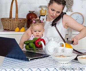 Cum sa castigi timp zilnic in meseria de mamica