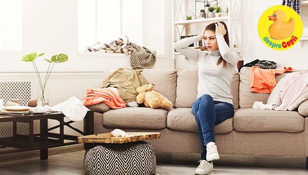 Este dovedit: mamele dezordonate nu sunt lenese, ci inteligente