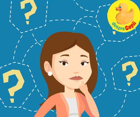 Mamicile si cele 300 intrebari care li se adreseaza zilnic