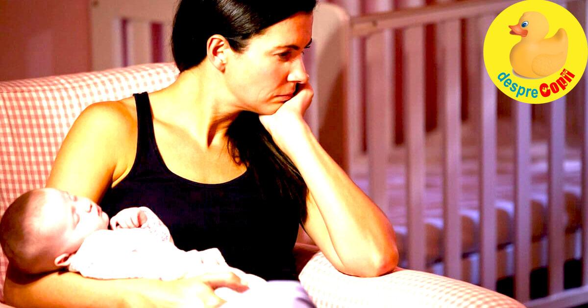 Realitatile unei mamici de bebelus: lipsa de somn si epuizare - ceea ce nimeni nu iti spune dar trebuie sa stii