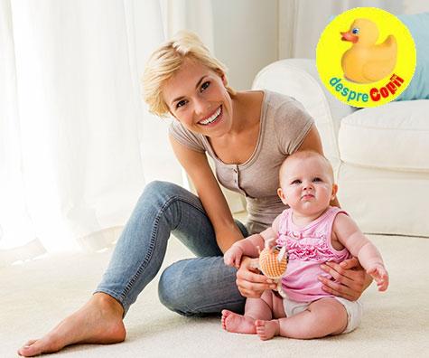 De ce are nevoie o proaspata mamica in primul an?