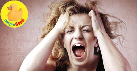 Mamicile si stresul - de ce nu trebuie sa ii ignoram semnele si 8 moduri de a-l tine sub control