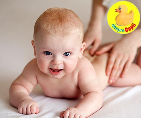 Uleiul de cocos ca lotiune de corp si masaj, pentru bebelusi