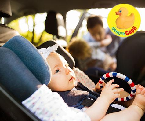 Cum ne pregatim masina pentru bebelus?