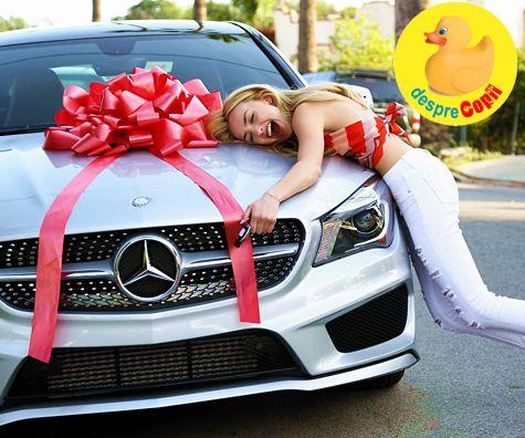 Nu cumpara copilului tau o masina - daca il iubesti