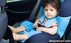 Cu cei mici in masina