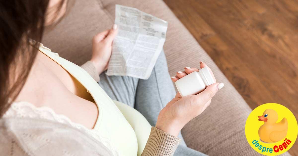 Folosirea medicamentelor in timpul sarcinii: medicamente sigure si medicamente cu risc - sfatul medicului