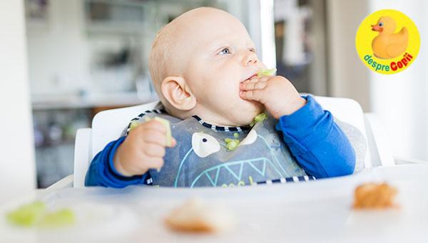 Invata-ti bebelusul sa cunoasca si sa aprecieze alimentele: metoda Rapley (auto-diversificarea bebelusului)