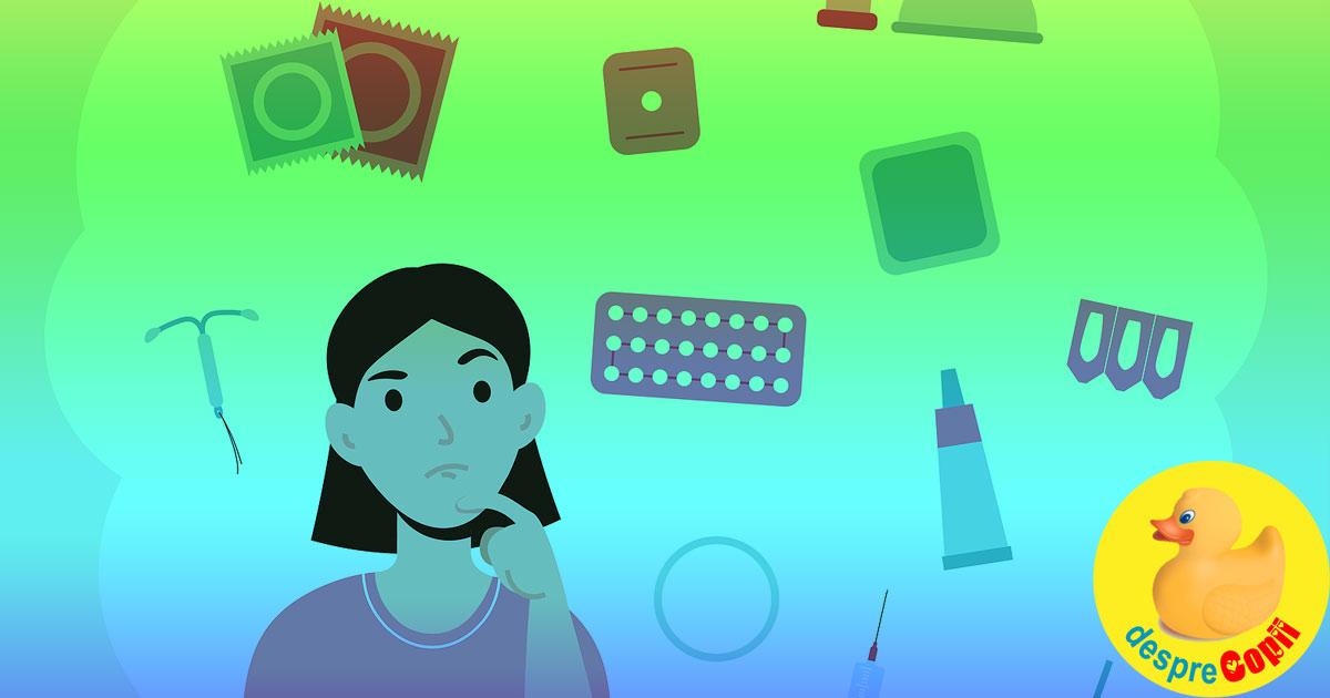 Metode de contraceptie - cum o alegem pe cea mai buna?