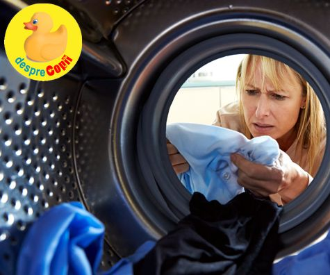 Cum distrugem microbii din masina de spalat?