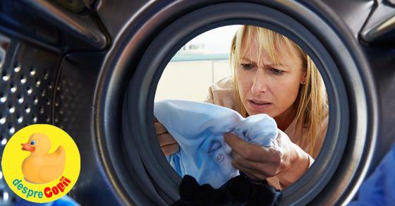 Iata cum distrugem microbii din masina de spalat