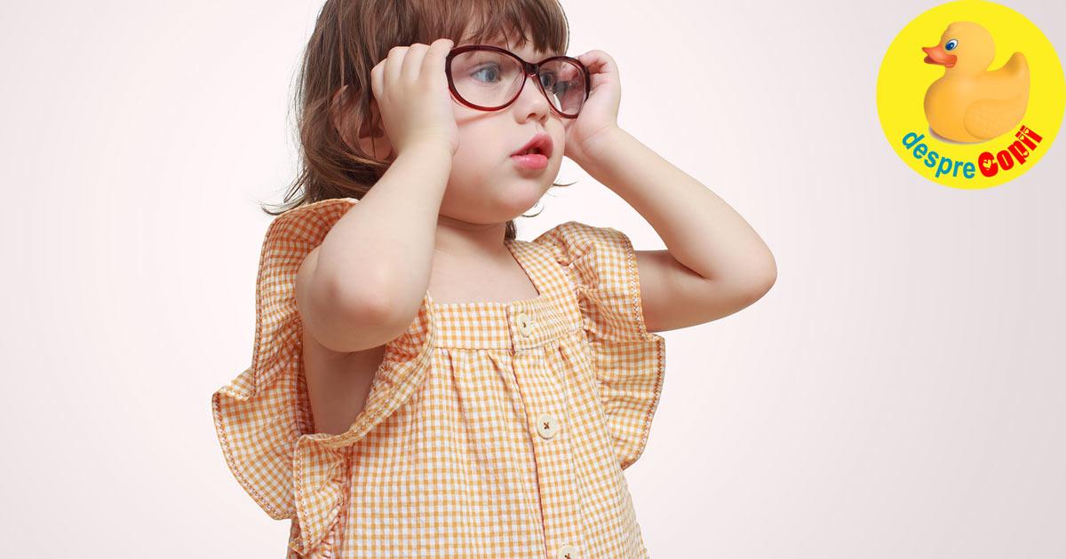 5 lucruri despre miopia la copil - explicate de medicul oftalmolog