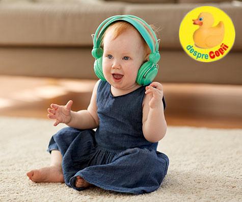 Muzica si dansul pentru bebelusi
