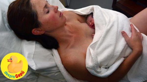 Nasterea vaginala dupa o operatie cezariana