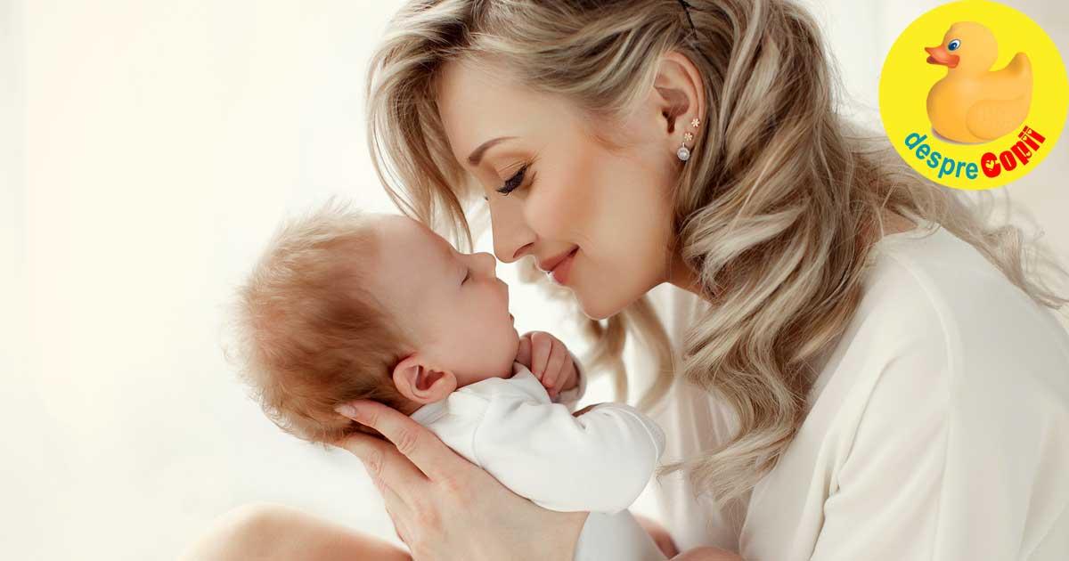 Nasterea unei mame. Greutatile inceputului meseriei de mama