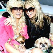 Nicole si Paris - dau lectii de slabire