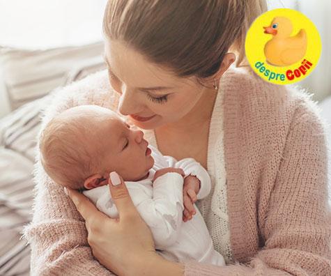 Spunem bun venit acasa bebelusului!