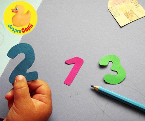 Invatam sa numaram, cu desene ne distram!