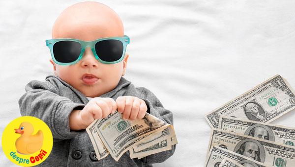Nume de copii care au sanse foarte mari de a deveni extrem de bogati