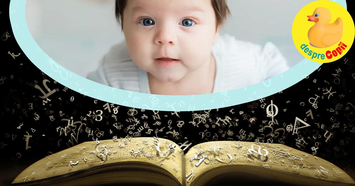Numerologie si alegerea numelui copilului