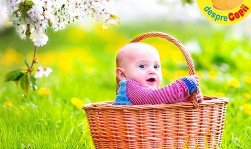 Nume de copii pentru copilasii nascuti primavara