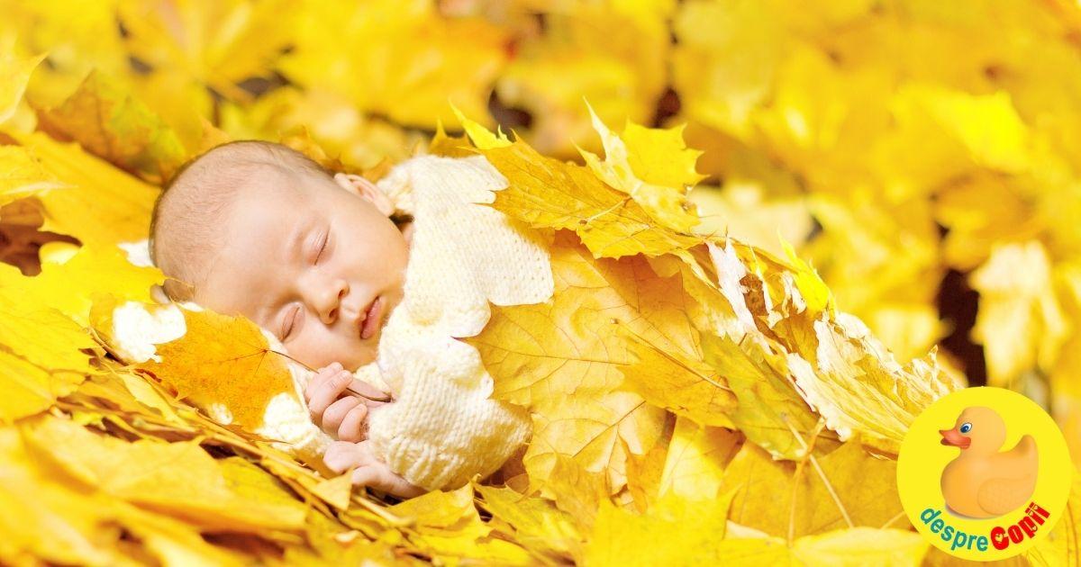 13 nume pentru fetite nascute toamna - o selectie de nume speciale pentru aceste fetite puternice si norocoase