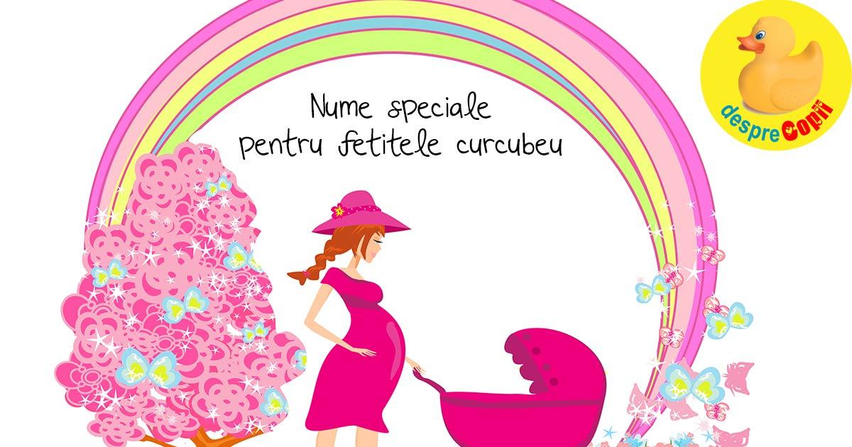 Cele mai frumoase si speciale nume pentru fetitele curcubeu