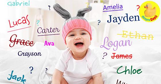 Numele copilului si numerologia