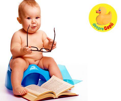 Cat de devreme poate incepe copilul antrenamentul pentru olita: semnale si sfaturi
