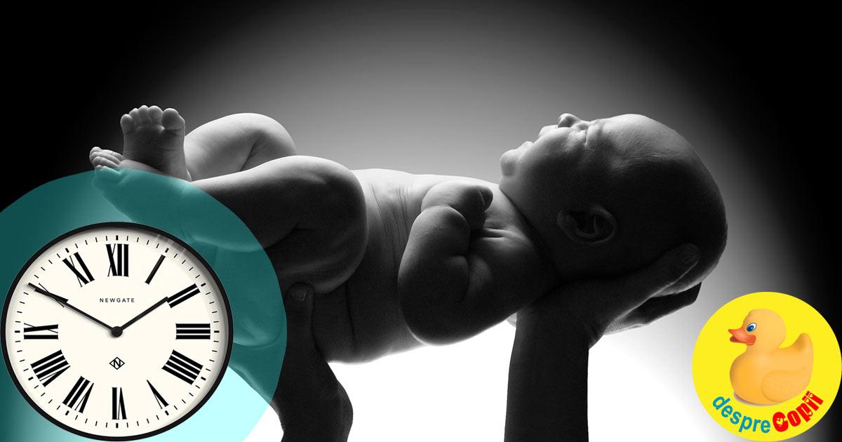 Ora nasterii si temperamentul. La ce ora s-a nascut copilul tau?