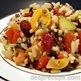 Salata de orez si fructe