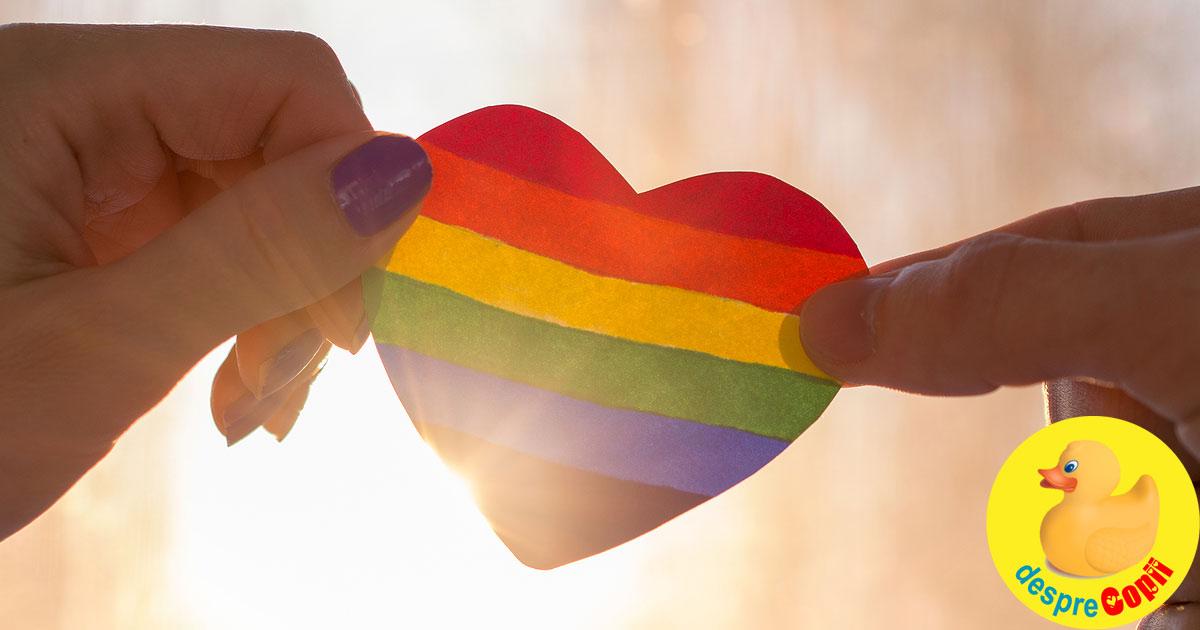 Orientarea sexuala – o problema delicata de discutat cu propriul copil