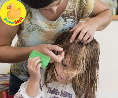 Locuri si situatii din care copiii pot lua paduchi de cap
