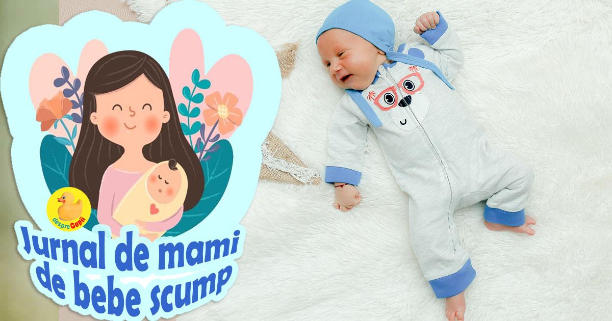Bebe a facut panaritiu - ai grija cum tai unghiutele bebelusului tau